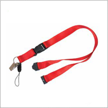 LD 12 - Lanyards with Sew, Metal Clip, Safety Clip & Handphone Clip